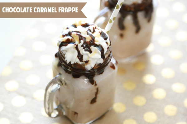Chocolate Caramel Frappe Simply Being Mommy