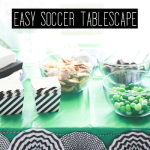 How to Make an Easy Soccer Tablescape