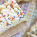 Funfetti Honeycomb Marshmallow Treats