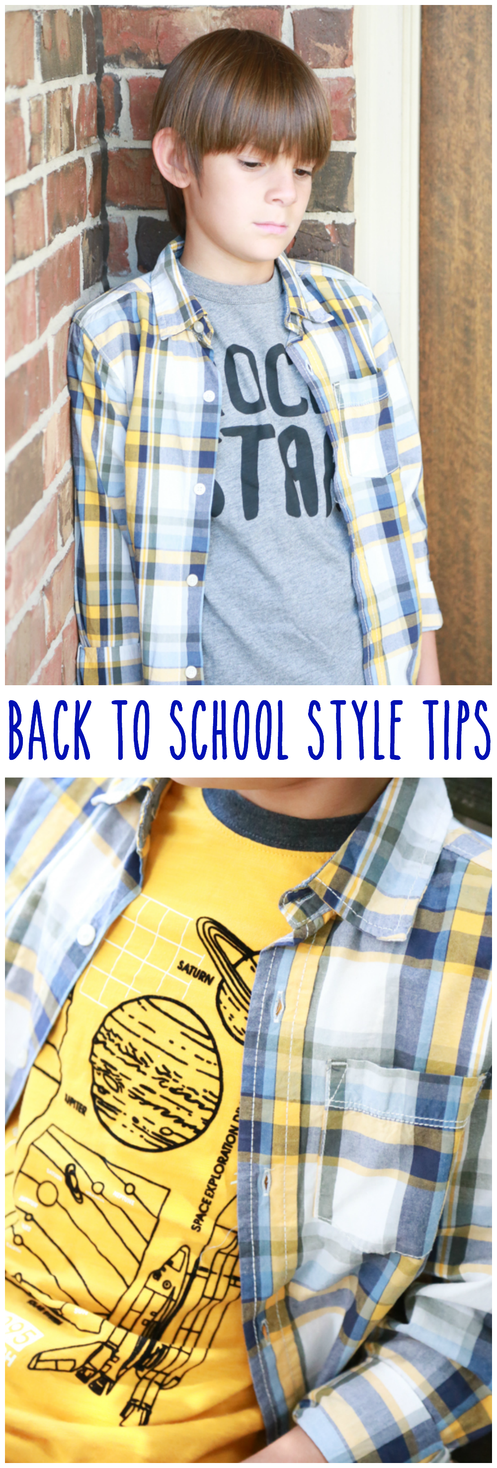 With the kids headed back to school, these Back to School Style tips will come in handy while shopping.