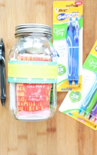 As your child is heading back to school, prepare a Back to School Teacher Survival Kit for their teacher! I'm sure they'll appreciate it.