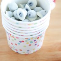 Homemade Yogurt Covered Blueberries
