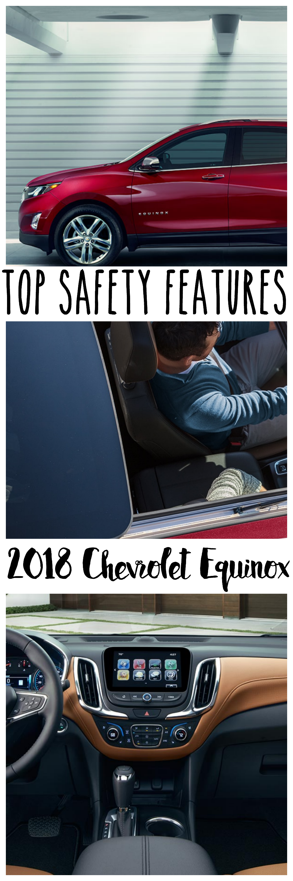 Safety features are important. Here are what I think are the top safety features of the 2018 Chevrolet Equinox.