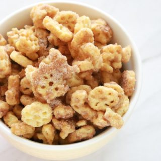 If you love Churros, you'll love this super easy to make Churro Honeycomb Snack Mix.