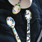 Edible White Chocolate Halloween Spoons