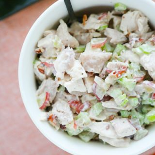 Forget Chicken Salad on a bread or bun. Save the carbs for dessert and try these Harvest Chicken Salad Lettuce Wraps.