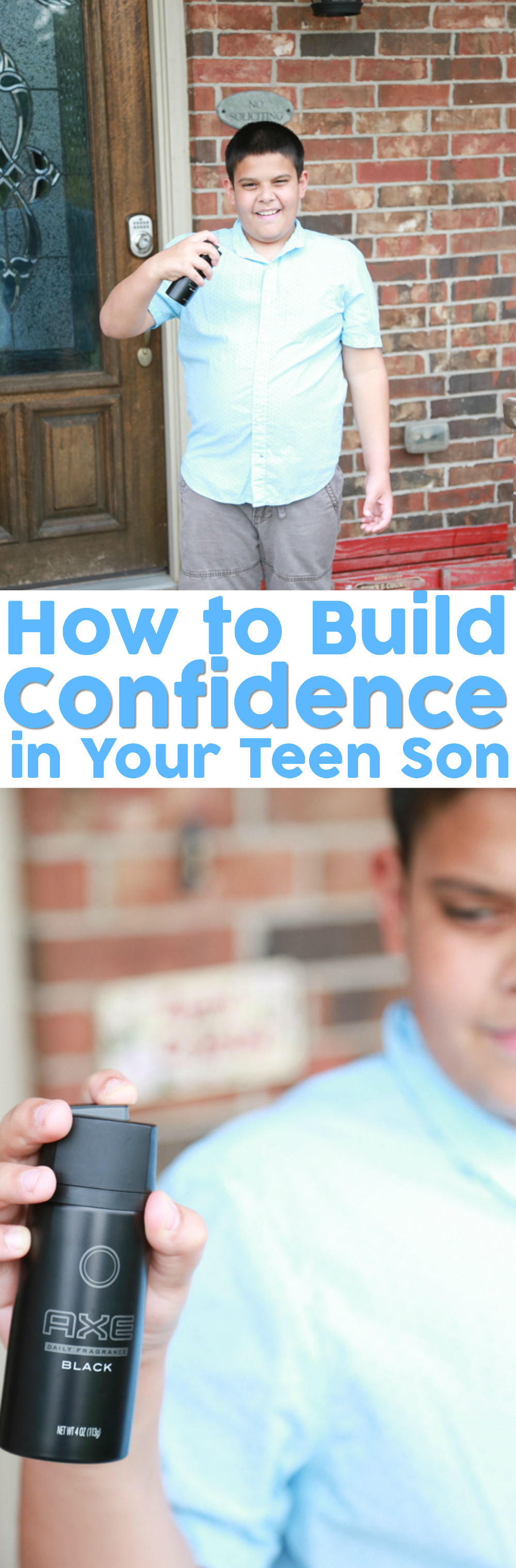 Realizing your son will soon be a teenager can be scary for the faint of heart. Here are some tips for how to build confidence in your teen son.