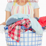 Keep Your Kids Clothes Looking and Smelling New (as long as possible)