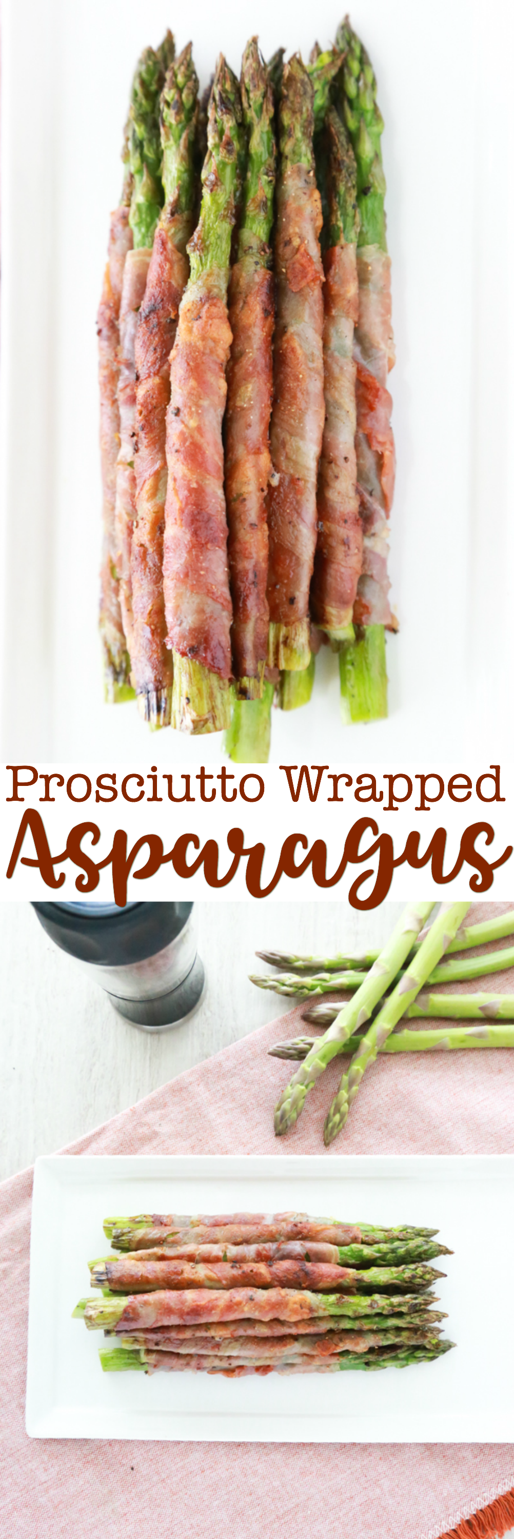 Even if you think you don't like asparagus, this Easy Prosciutto Wrapped Asparagus recipe will absolutely change your mind. The best asparagus recipe EVER!