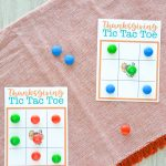 Thanksgiving Tic Tac Toe | Free Printable Playing Cards