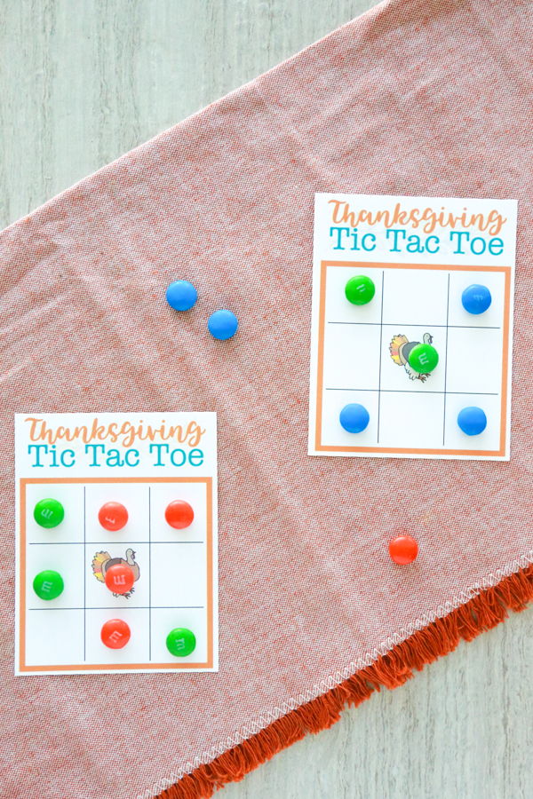 thanksgiving tic tac toe printable