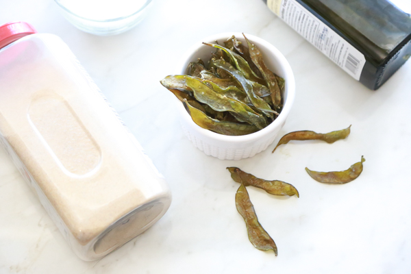 Homemade Snap Pea Chips  Simply Being Mommy-4977
