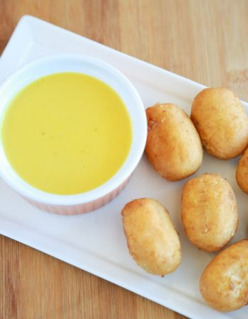 My kids have always been dippers. It doesn't matter what they're eating, as long as they can dip it into something. One of their favorites is this delicious Honey Mustard Dipping Sauce that is SO easy to make.