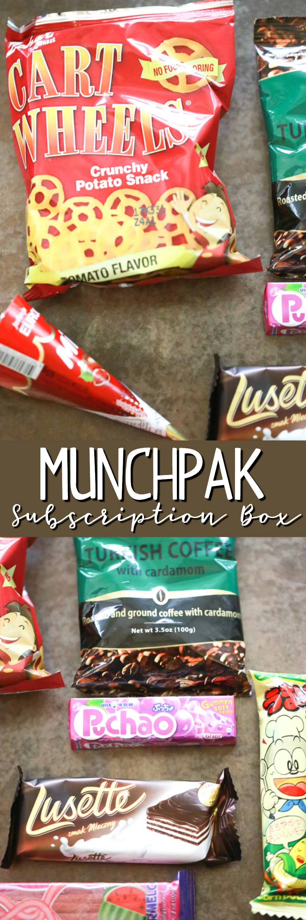 Are you a snacker? For a unique, out of the ordinary snack experience, try a MunchPak Monthly Subscription Box.