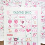 Valentines Bingo Bundle – Set of Free Valentines Printables