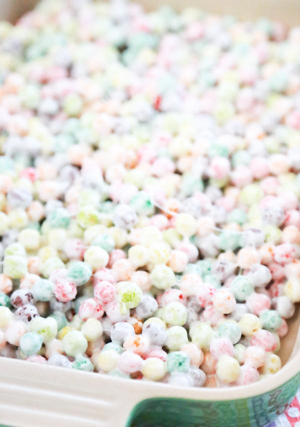 rainbow marshmallow treats