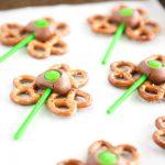 Shamrock Pretzel Pops for St. Patrick's Day