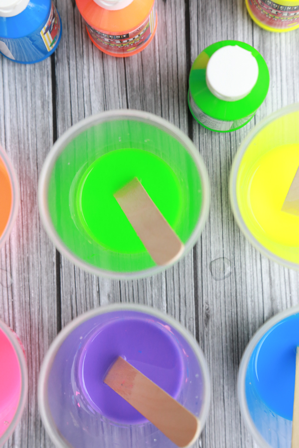 how to make homemade easter chalk