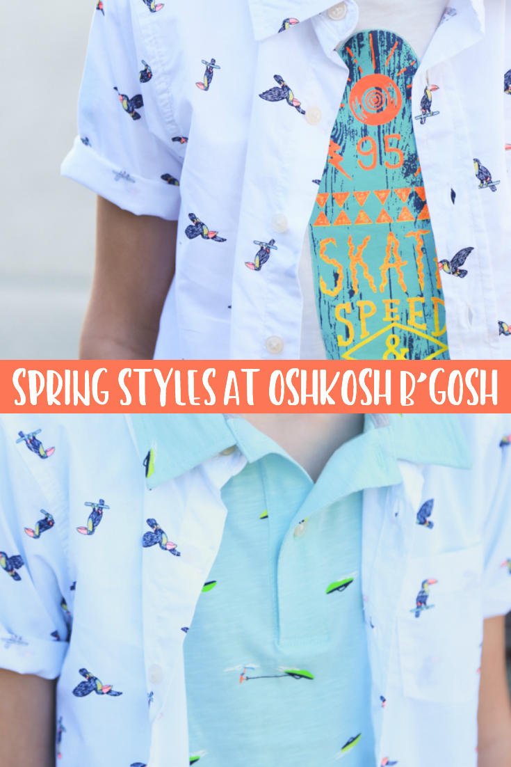 LOVE THESE TIPS! Refresh your child's wardrobe with these adorable spring styles at @OshkoshBgosh. Plus get tips for how to get the best bang for your buck during your wardrobe refresh. #BringTheFun #OshKoshKids