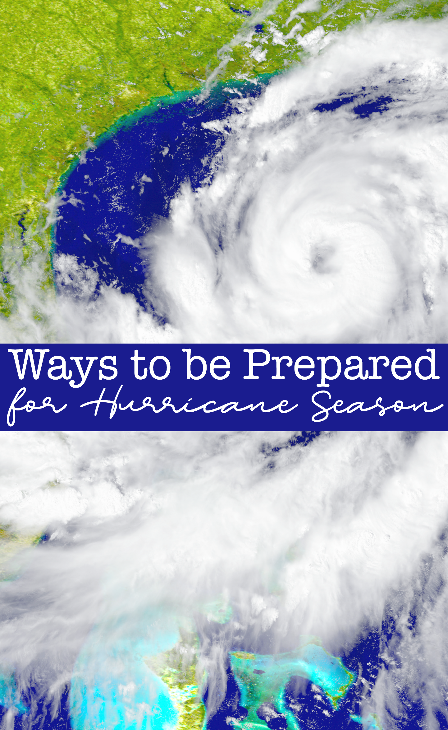 Hurricane season is approaching and the best thing we can do is get ready for it. Here are 5 ways to be prepared for hurricane season to ensure your family's safety.