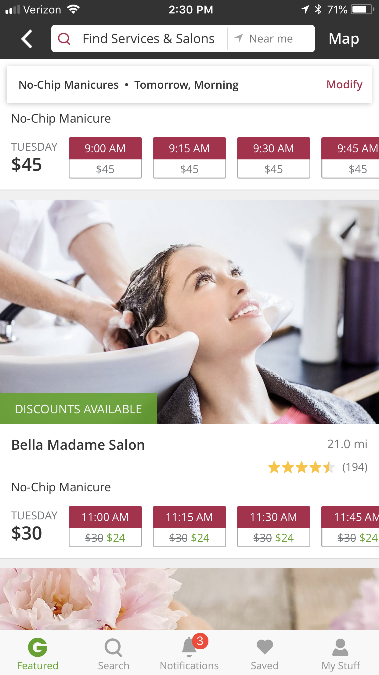 Book your next beauty service with Groupon's BeautyNow Booking. Schedule your services on your schedule, not theirs.