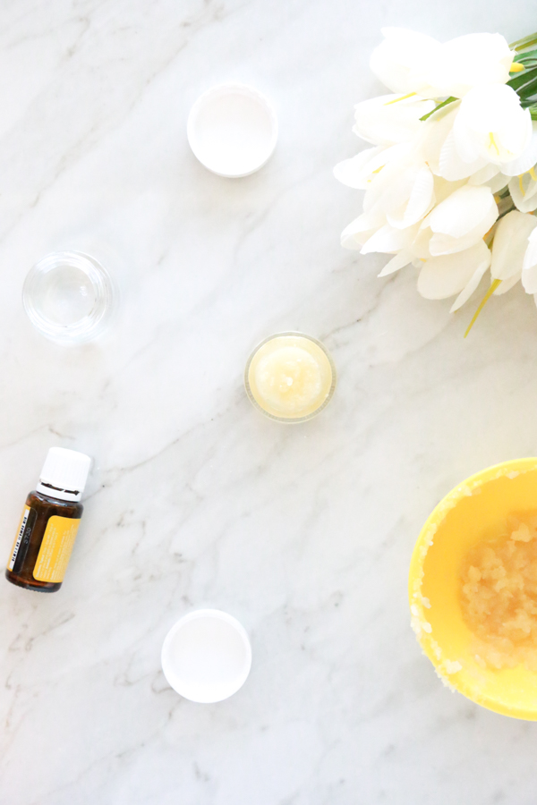 A great way to pamper yourself this Mother's Day is by whipping up a batch of this DIY Lemon Lip Scrub for yourself or that special woman in your life.
