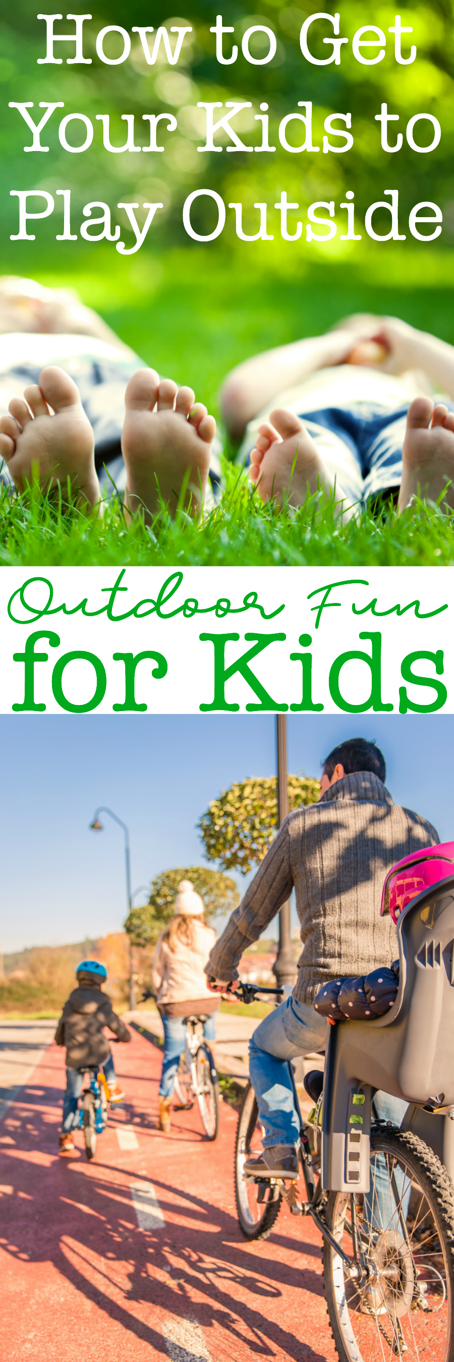 Outdoor fun for kids has changed over the years. Playing outdoors offers kids an opportunity for learning and creative play. Check out all these fun ways to experience the outdoors as a family.
