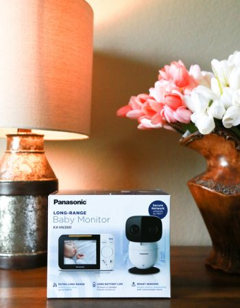 The right baby monitor is essential for busy parents who want to always have eyes and ears on baby. The Panasonic Long-Range Baby Monitor does exactly that. See what I think in my Panasonic Long-Range Baby Monitor review.