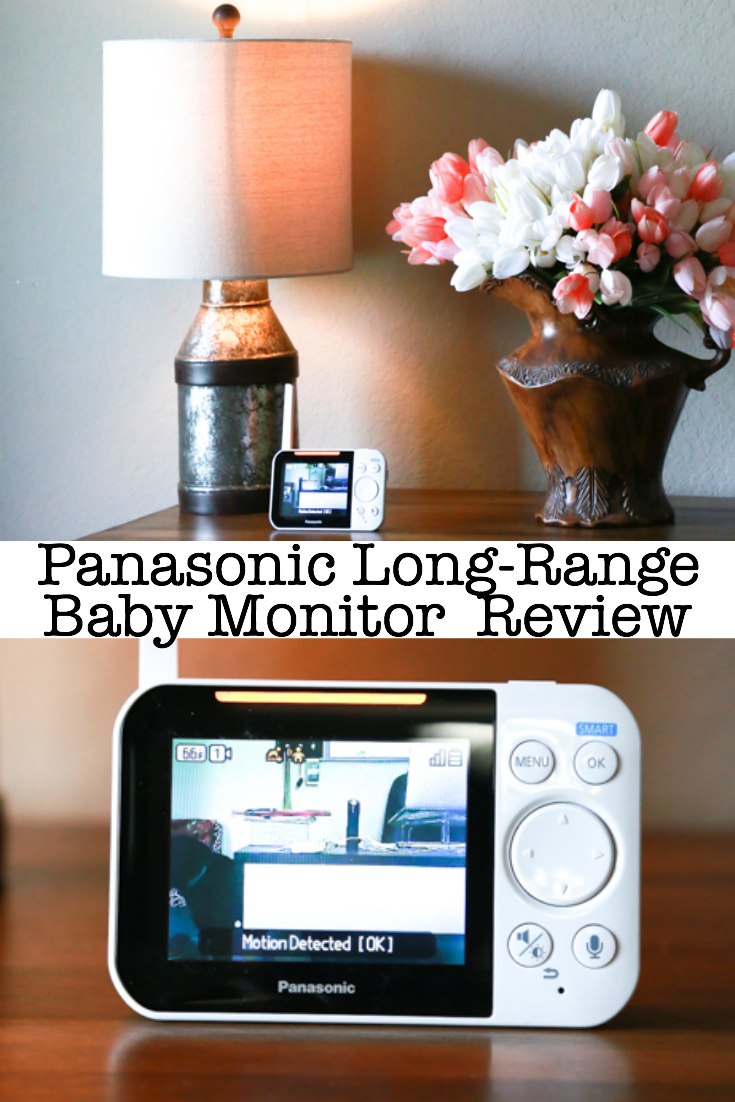 The right baby monitor is essential for busy parents who want to always have eyes and ears on baby. The Panasonic Long-Range Baby Monitor does exactly that. See what I think in my Panasonic Long-Range Baby Monitor review. #baby #babyreview #babymonitor