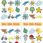 Bike Ride Bingo Printables + Tips for Buying the Right Bike