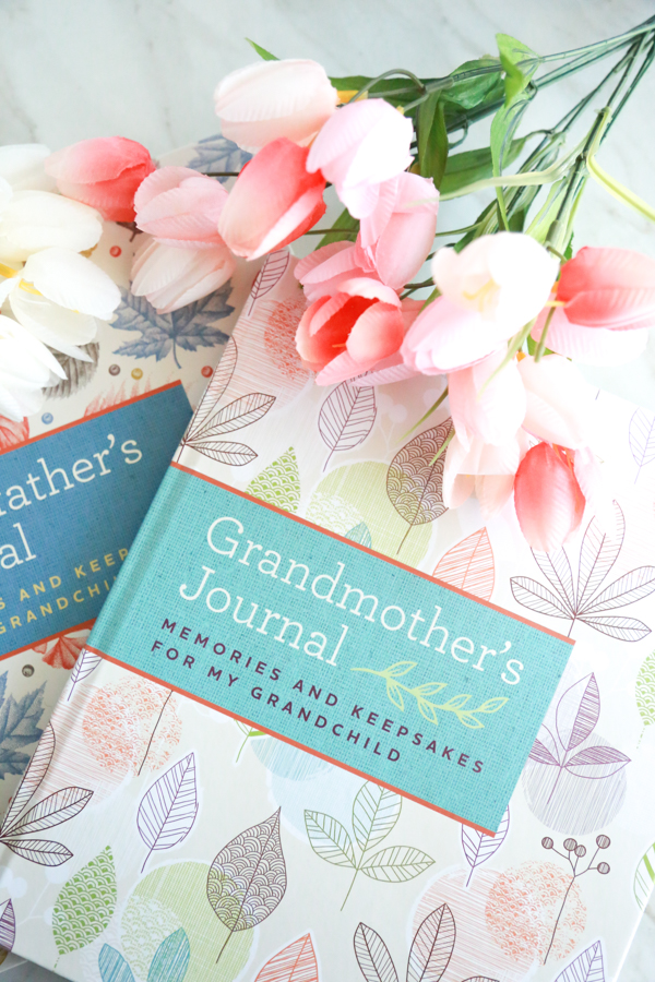 Leave your grandchildren more than just memories with these Grandparent Journals.