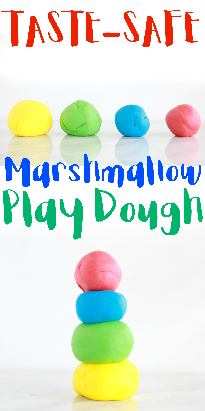 If you're looking for a fun and easy way to keep the kids entertained, this easy to make Marshmallow Play Dough doesn't disappoint. You probably already have the ingredients you need in the pantry.