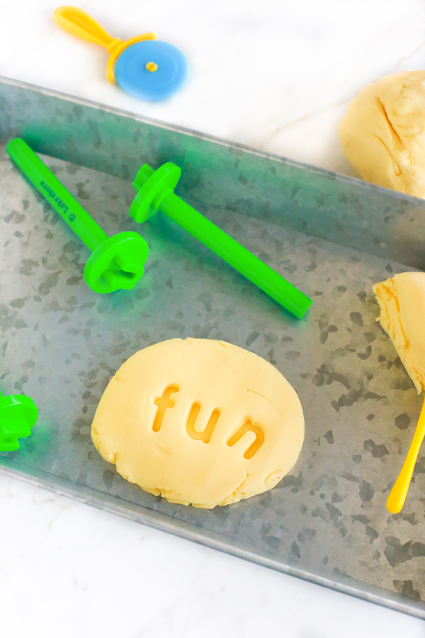 edible pudding play dough recipe