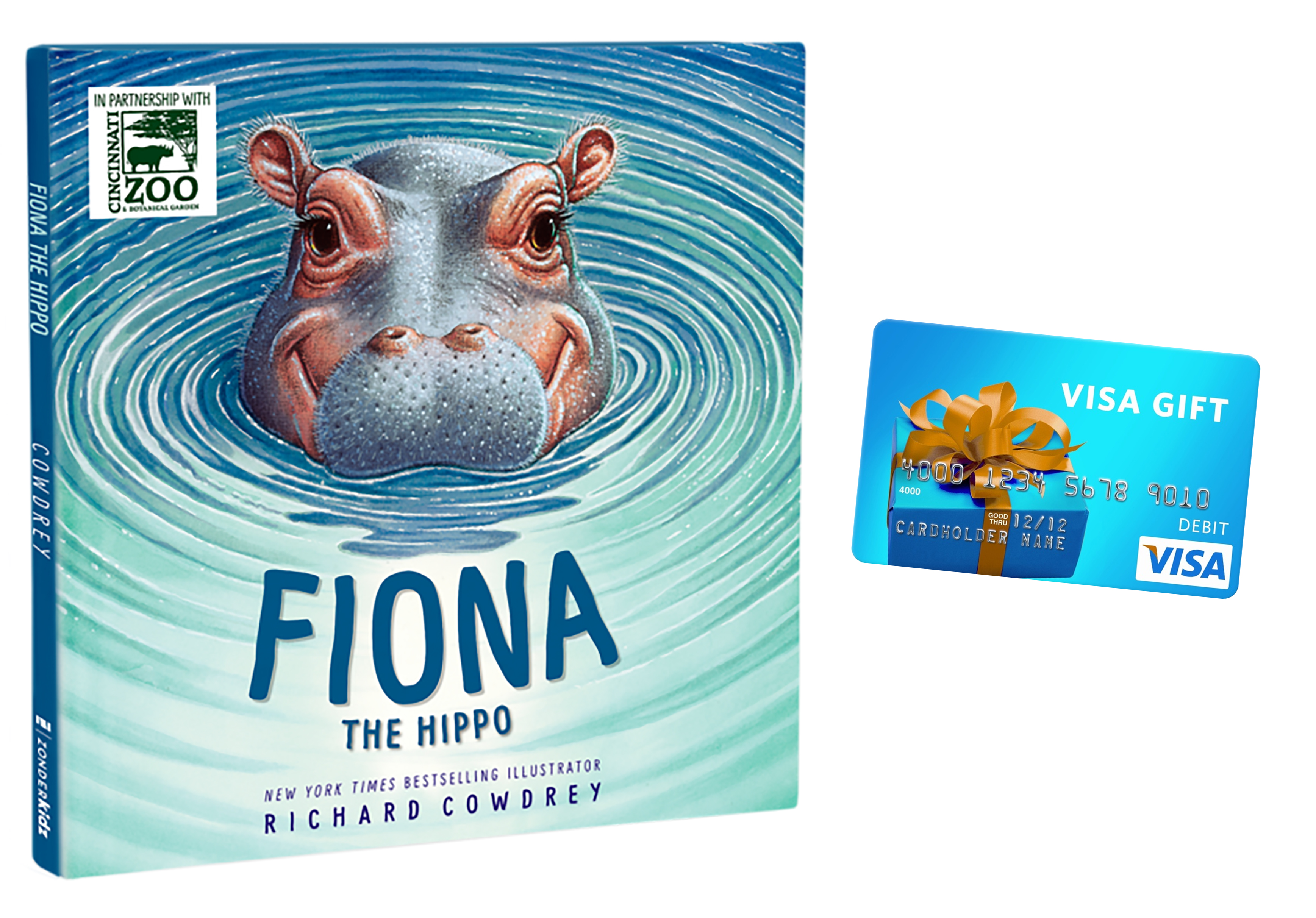 The story of Fiona the Hippo, and the beautiful illustrations in the book are sure to become a fast favorite in your home, as it has in mine.