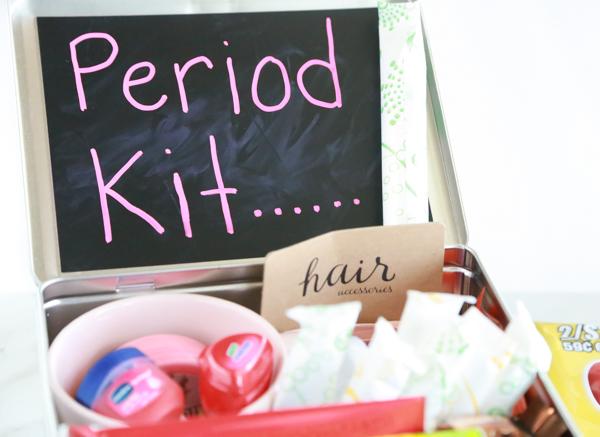 emergency period kit