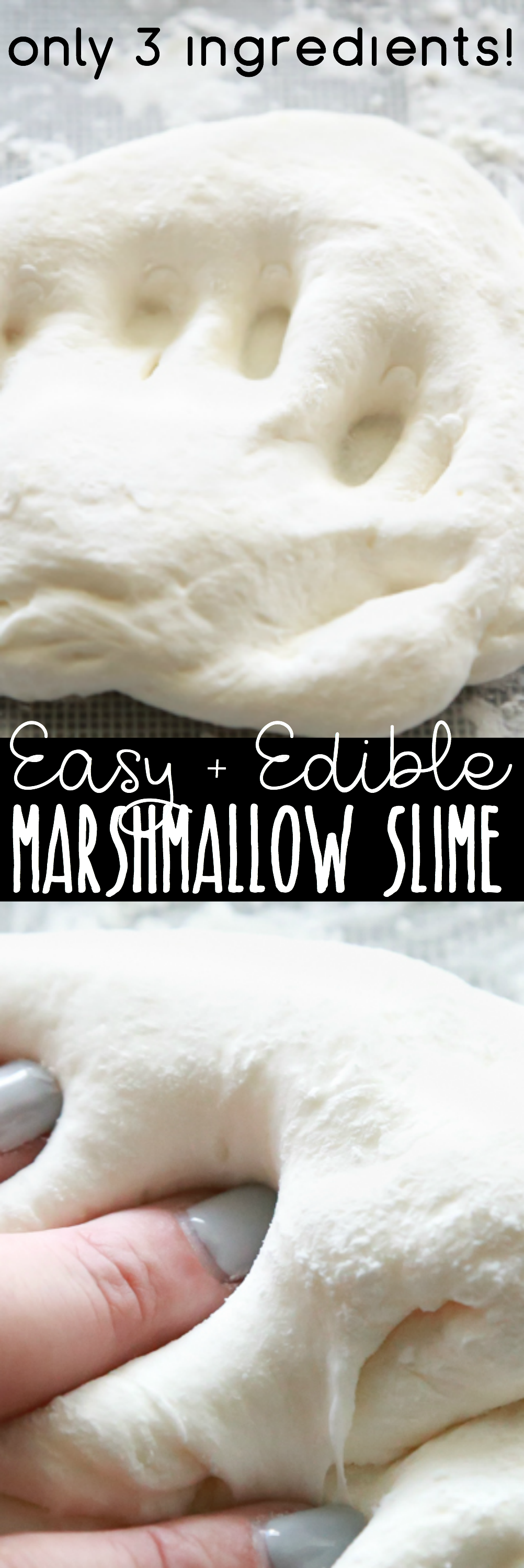 how to make edible marshmallow slime