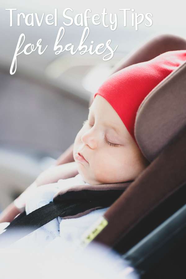 September is officially Baby Safety Month so I wanted to share some safety tips to keep baby safe while traveling for Labor Day. With Labor Day Weekend being one of the busiest travel weekends of the year, it's the perfect time to go over a few travel safety tips.