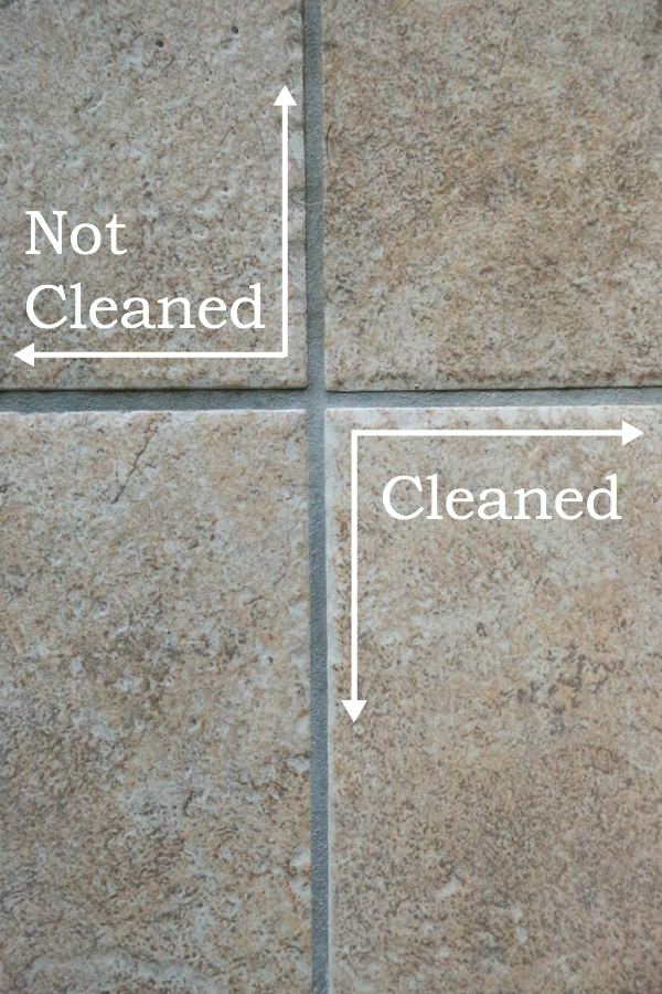 If your tile grout is in need of a deep clean, try making this Homemade 2-Ingredient Non-Toxic Grout Cleaner.