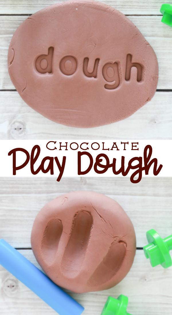 chocolat play dough recipe
