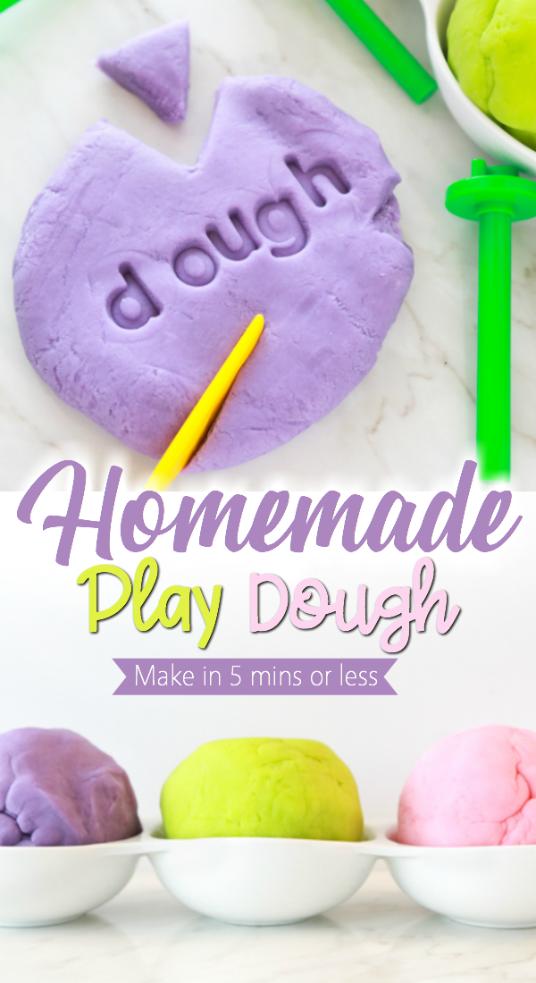 how to make the perfect homemade play dough