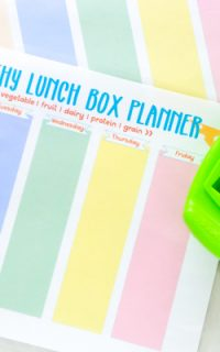 free printable lunch box planner
