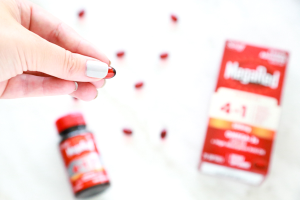 megared 4in1 soft gels for those who are low in omega-3s