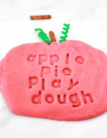 apple pie play dough