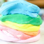 how to make colored cloud dough