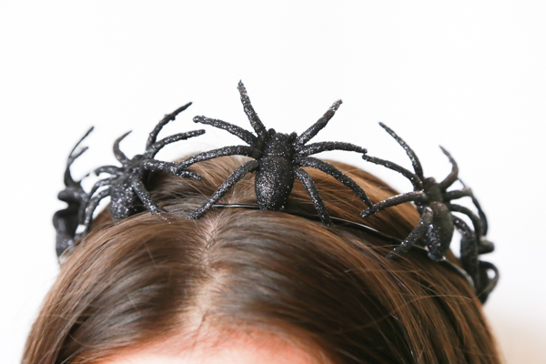 how to make a spider crown