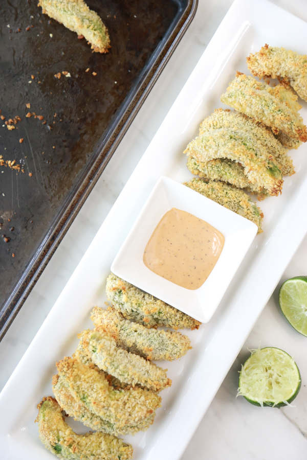 how to make baked avocado fries