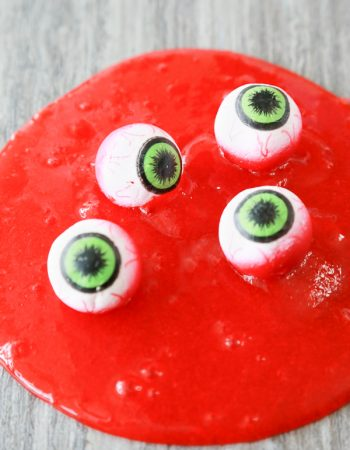 how to make eye ball slime