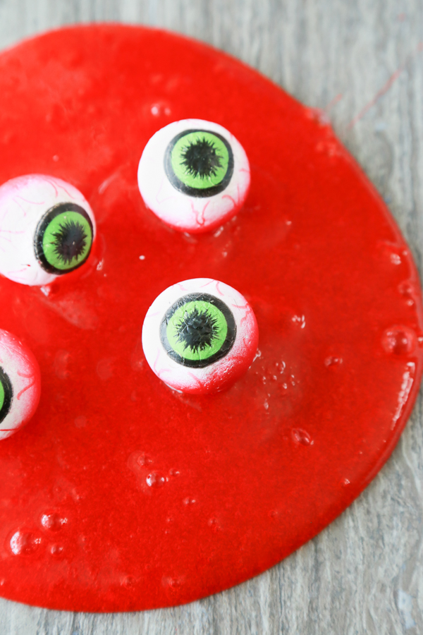 how to make eyeball slime