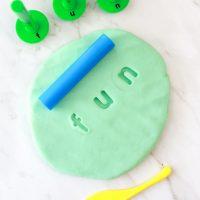 3 Ingredient Play Dough Recipe