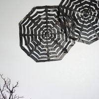 Trash Bag Spider Webs